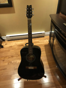 Washburn Guitar and Stand