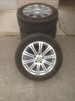 BMW X3 WINTER SNOW TIRE PACKAGE GREAT SET