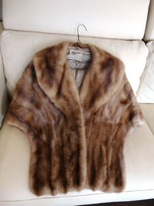 Ladies Vintage Barries Ltd Manufacturing Furriers Coat type Vest