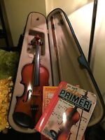Palatino full sized violin with all the essentials