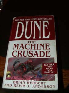 DUNE: The Machine Crusade Paperback Novel Good Condition