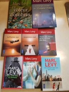Marc Levy 8 livres le voleur d'ombre, le premier jour