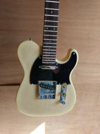 Hudson half size electric guitar