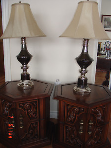 Matching Living Rm Lamps & End Tables