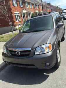Mazda Tribute 2005 GT cuir toit AWD Impecable !!!