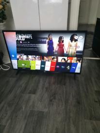 "Lg 43""inch smart tv"