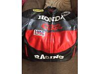 Racing leather jacket