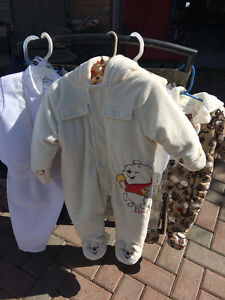 Infant snowsuit - 6 - 12 months