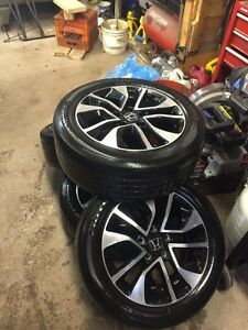 4 Honda Civic EX rims