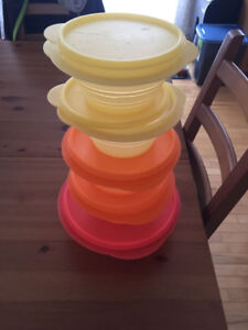 Tupperware storage containers set - unused and perfect