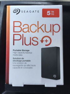 Seagate STX Backup Plus 5TB 2.5""