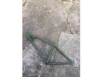 Dirt jump mountain bike frame azonic da bomb