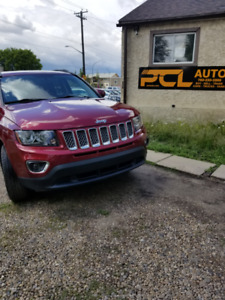2016 JEEP COMPASS HIGH ALTITUDE !LOW KM!4X4! LOADED!B.CAMERA!