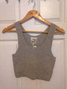 Aritzia Wilfred Crop Top - M