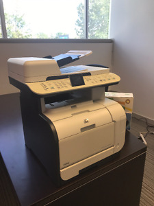 HP Color LaserJet CM2320nf MFP  Networked, wifi, copy/scan/email
