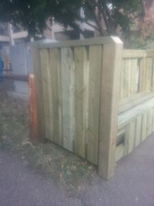 Garbage Can Holders really well made assembled on location Edmonton Edmonton Area image 4