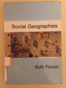 Social Geographies by Ruth Panelli