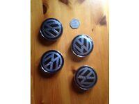 set of 6cm vw 3 door golf wheele caps