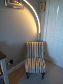 Small fabric chair