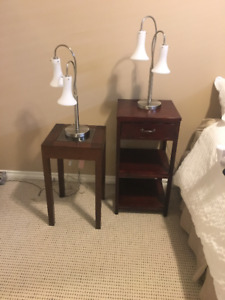 Side tables/night stands