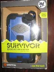Griffin Survivor Rugged Case for Ipod Touch 5th / 6th Gen. NEW