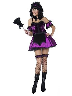 Gothic Housekeeper Maid Costume M 12/14 HALLOWEEN CLEARANCE Ladies Fancy Dress