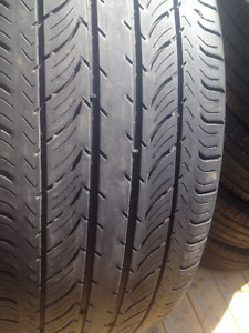 Set of 4  Conticontal  Summer tires 215/50/17