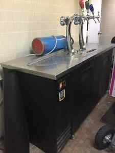 Keg Fridge with Taps Cornwall Ontario image 1
