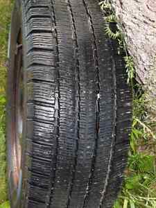 4 Michelin Arctic Alpine Snow tires