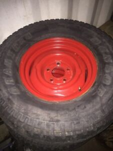 Chevy tires and rims
