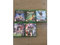 Kids Xbox One Games Bundle