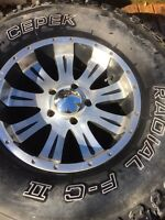 """17"""" Dodge Ram 1500 rims.  Fits up to a 2012."""