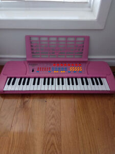 Childrens Pink Keyboard for sale.