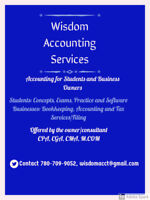 Affordable Accounting/Tax Tutoring help
