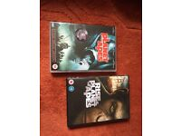 Planet of the Apes and Rise of the Planet of the Apes DVDs