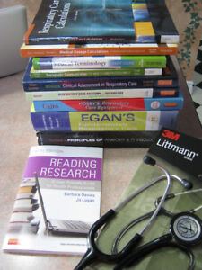 Textbooks for Respiratory Therapy- First Year