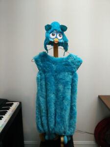 Costume Hibou Furby bleu 7-8