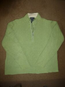 Green Van Heusen Sweater XL