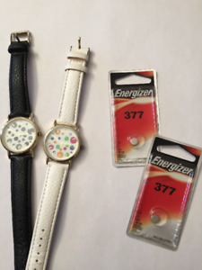 TWO FASHION WATCHES TO MATCH EVERYTHING!