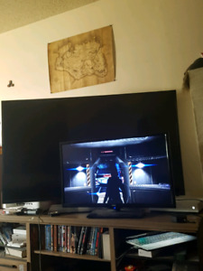 60 inch Samsung for parts or repair