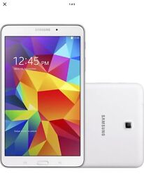 Genuine Samsung Galaxy Tab 4, 8.0'' SM-T330, 16GB, 1.5GB RAM Wi-Fi Android - UK in White
