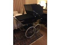 Beautiful Balmoral Silver Cross Coach-built Pram
