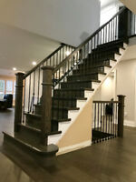 Custom Stairs and flooring