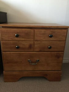 Brand new Pine Nightstand- Pet Smoke Free