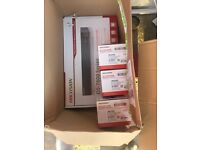 HIKVISION NVR + 3 x 4mp antivandal domes 3 year warranty no hdd