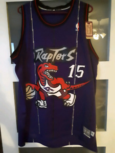 Vince Carter Jersey XL Retired Throwback Hardwood Classics