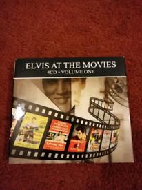 Elvis Presley. Elvis at the movies vol 1 4 CD set