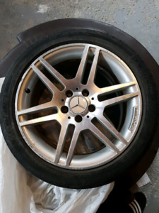 2009 Mercedes C300 amg rims and tires