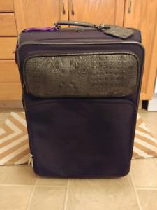 Large black suitcase $25 OBO