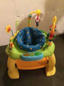 Bright Starts Exersaucer - Snack Tray-Great Condition-Heights
